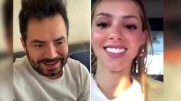 José Eduardo parodia momento incómodo entre Mariana Rodríguez y Samuel García