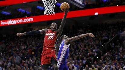 Philadelphia 76ers 104-108 Miami Heat