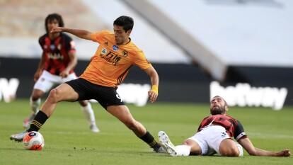 Con gol de Raúl Jiménez, el Wolverhampton se lleva la victoria 1-0 sobre el Bournemouth y sigue pensando en puestos europeos.