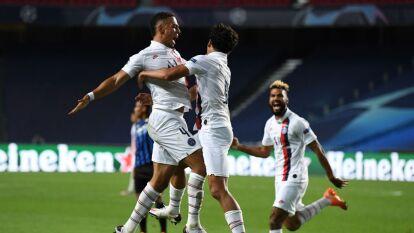 PSG despachó al Atalanta para avanza a la semifinales de la Champions | Con dos goles al final del juego, el conjunto parisino dio vuelta al marcador para acceder a la siguiente ronda de la justa.
