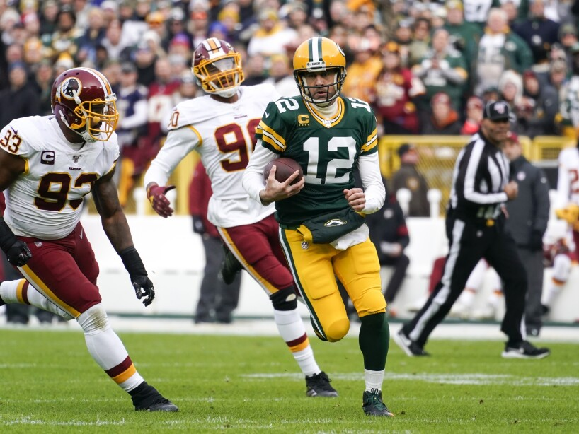 Redskins Packers Football