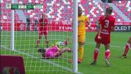 ¡Es una muralla! Dayan Téllez le roba el gol a Tigres