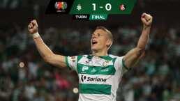 Julio Furch anota y da a Santos tercera victoria consecutiva