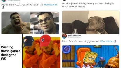 Los mejores memes de la Serie Mundial