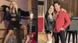Danna Paola le echa muchas ganas a la cantada, tanto que espanta a David Bisbal
