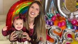 La bebé de Marlene Favela ya empieza a balbucear y desata ternura en redes sociales