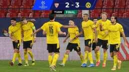 Dortmund deja noqueado a Sevilla para la vuelta en Champions League