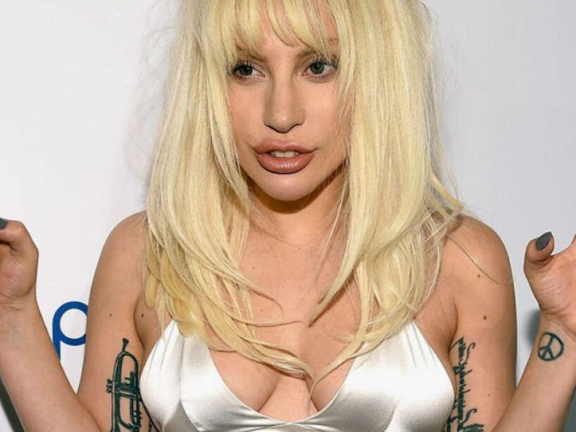 13. Stefani Joanne Angelina Germanotta: Es el verdadero nombre de la controversial Lady Gaga.