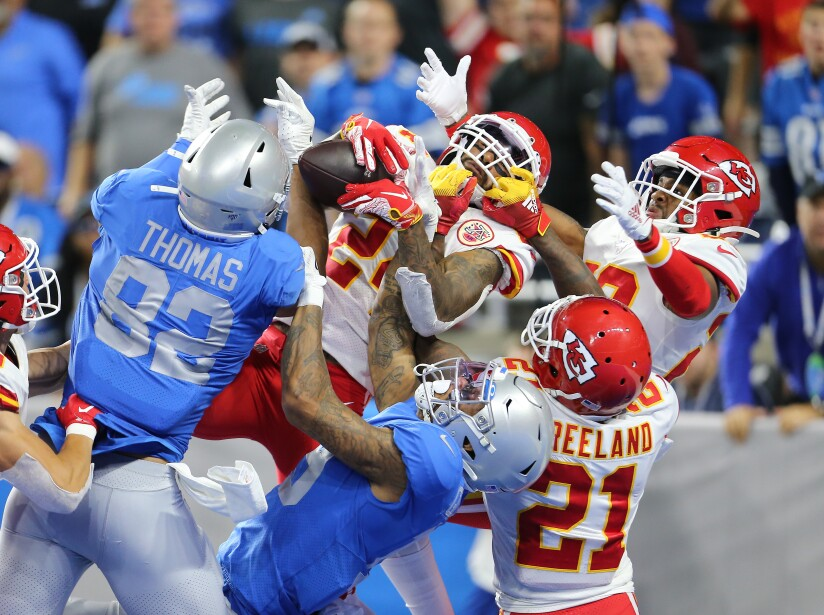 Kansas City Chiefs v Detroit Lions