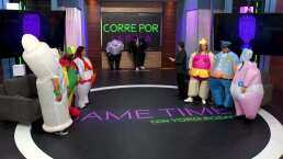 Game Time: Con toda la actitud, Yordi Rosado canta a todo pulmón con los participantes