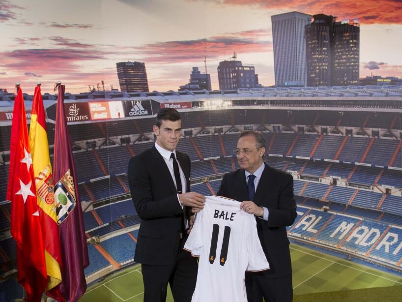Gareth Bale, Florentino Perez