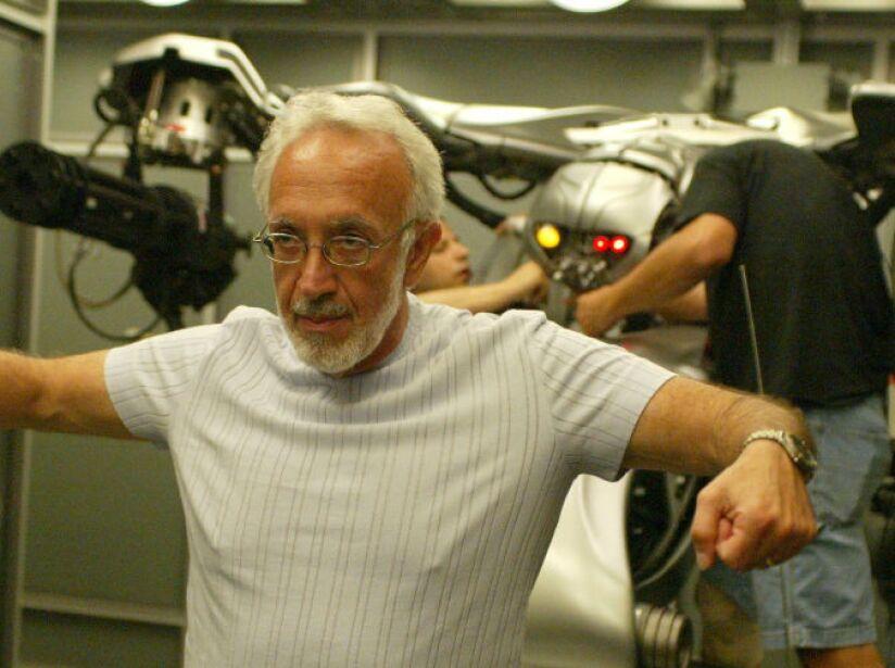 Winston también diseñó los efectos especiales de Terminator III: La Rebelión de las Máquinas.