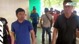 Respeto nivel Pacquiao: el campeón filipino ayuda a los damnificados de su país