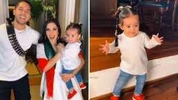 Kima, hija de Kimberly Loaiza, enternece en TikTok por sus pasos de baile