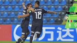 México 8-0 Islas Salomón – Goles y Resumen – Mundial Sub-17