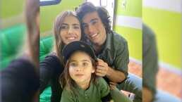 Hijo de Michelle Renaud 'engaña' a Danilo Carrera y el actor termina en el agua