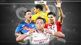¿Cómo anotan los mexicanos esta temporada en Ligas de Europa?
