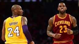 Kobe Bryant, inspiración de LeBron James