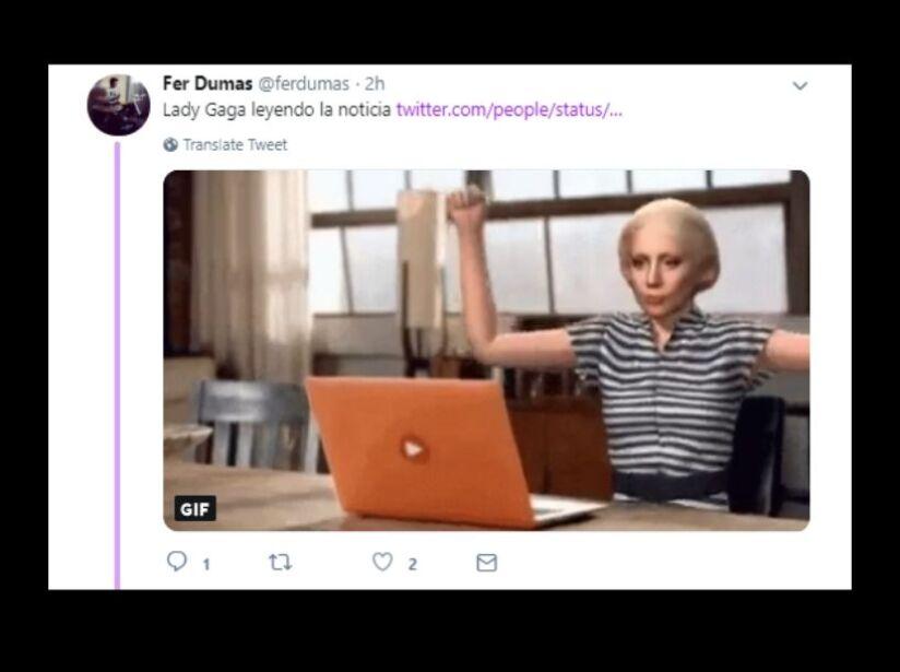 Fans de Lady Gaga reaccionan a la ruptura de Bradley Cooper con memes