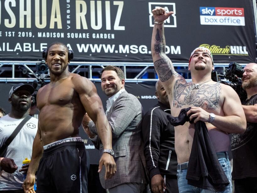 Joshua Ruiz Boxing
