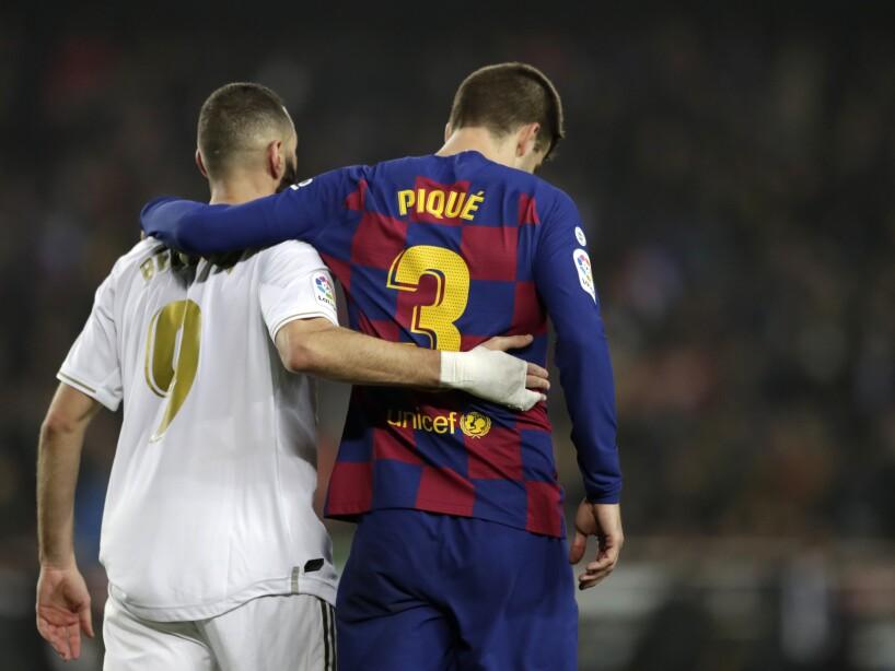 APTOPIX Spain Soccer Clasico Protest