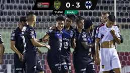 Rayados sacó la victoria por blanqueada ante el Atlético Pantoja