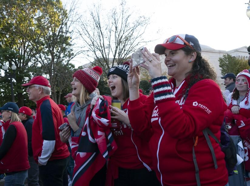 Washington Nationals Victory Parade