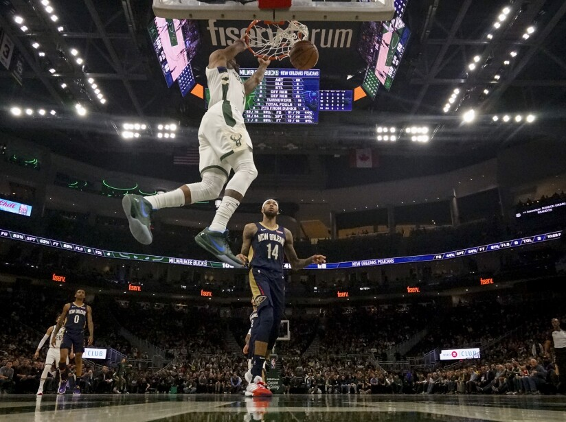 Milwaukee Bucks 127-112 New Orleans Pelicans
