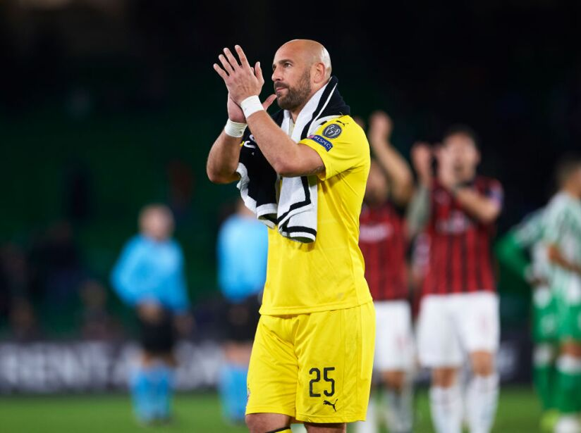 Real Betis v AC Milan - UEFA Europa League - Group F
