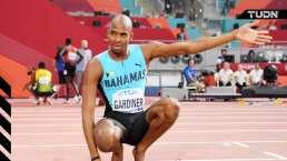 Steven Gardiner no tuvo competencia en los 400 m planos
