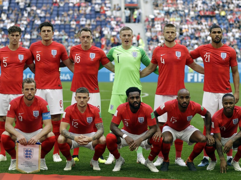 Russia Soccer WCup England Belgium
