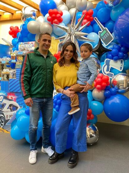 Patricio, el hijo mayor de Tania Rincón, celebró su cumpleaños número 4, motivo por el que la conductora armó tremenda fiesta para festejarlo. ¡Mira todas las fotos!