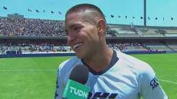 """Entre lágrimas, Bryan dedicó su gol a """"mi madre en el cielo"""""""