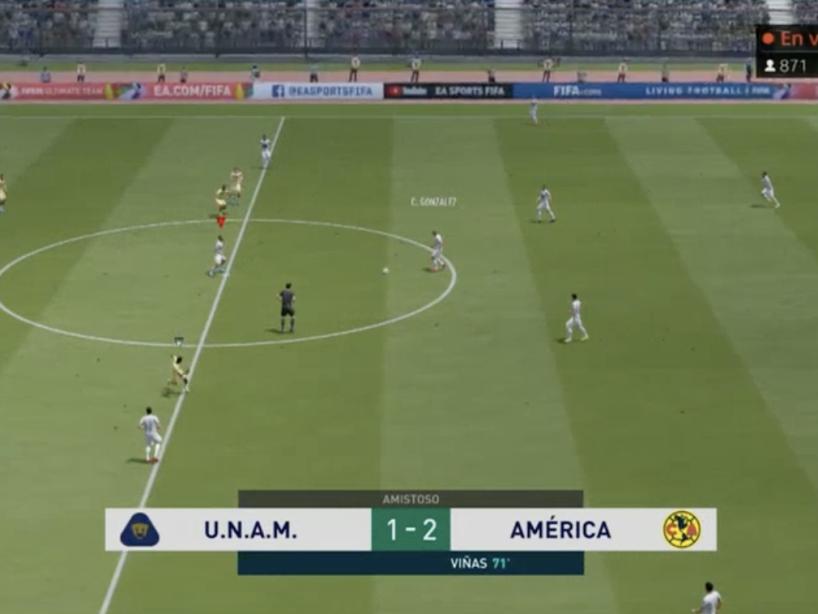 Pumas vs América, eLiga MX, 18.png