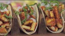 RECETA: Tacos de pollo al pastor