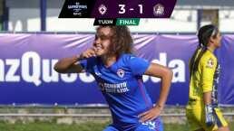 Resumen | Cruz Azul se impuso 3-1 al Atlético San Luis en La Noria