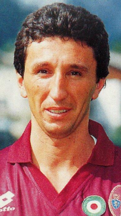Luca Fusi jugó en 1988 en el Napoli.
