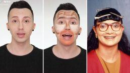 Este joven cambió su apariencia para verse como 'Yo soy Betty, la fea'