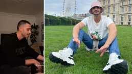 Alejandro Speitzer enamora con su voz al interpretar éxito de Sin Bandera