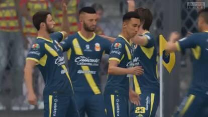 Los universitarios cayeron por cuarta ocasión consecutiva en la eLiga MX.