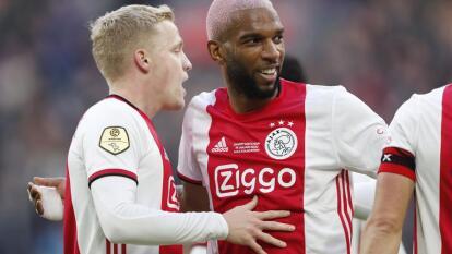 El Ajax vence 2-1 a Sparta Rotterdam y sigue siendo líder de la liga holandesa. Los goles del Ajax fueron por parte de Van de Beek y Gravenberch, y por parte de Rotterdam fue Piroe. Edson Álvarez permaneció en banca.