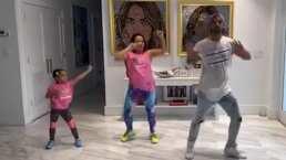 Alaïa, la hija de Adamari López salió mejor bailarina que su papá Toni costa