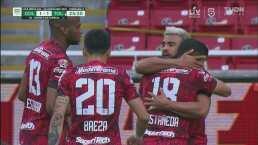 ¡No dejan festejar a Chivas! Kevin Castañeda pone el empate 1-1