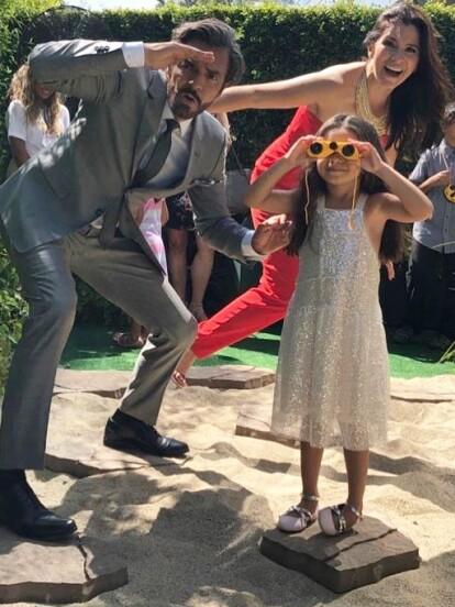Este fin de semana, Eugenio Derbez acudió con su familia a la alfombra roja de la película 'Dora y la ciudad perdida' en Los Ángeles, California.