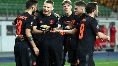 Manchester United dio una cátedra de futbol y goleo 0-5 en su casa al LASK.