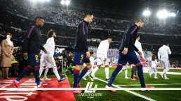 Jugadores del Barcelona y Real Madrid presentaron pruebas médicas