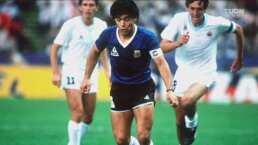 Diego Armando Maradona enamoró a los más exigentes del futbol