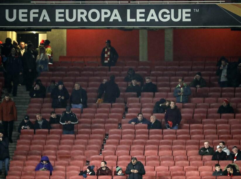 Britain Soccer Europa League