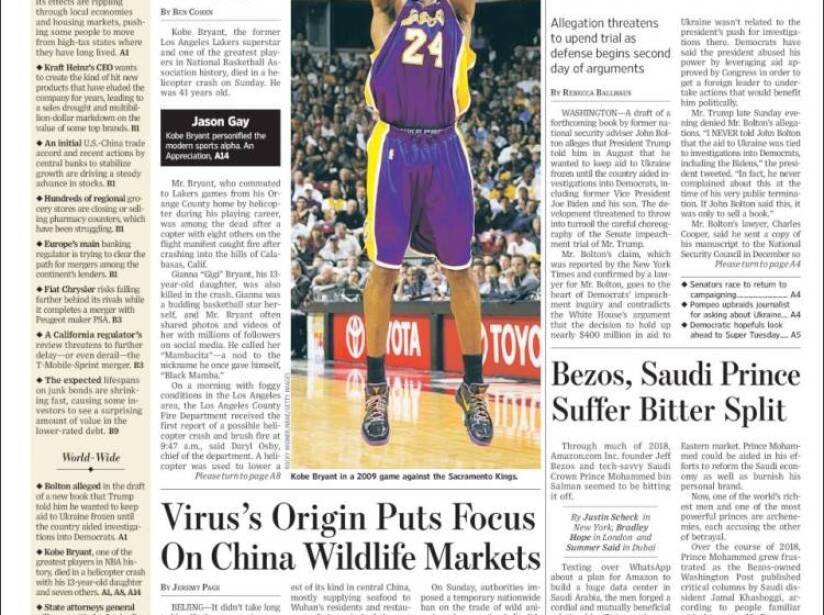 Kobe Bryant, periódico, THE WALL STREET JOURNAL.jpg