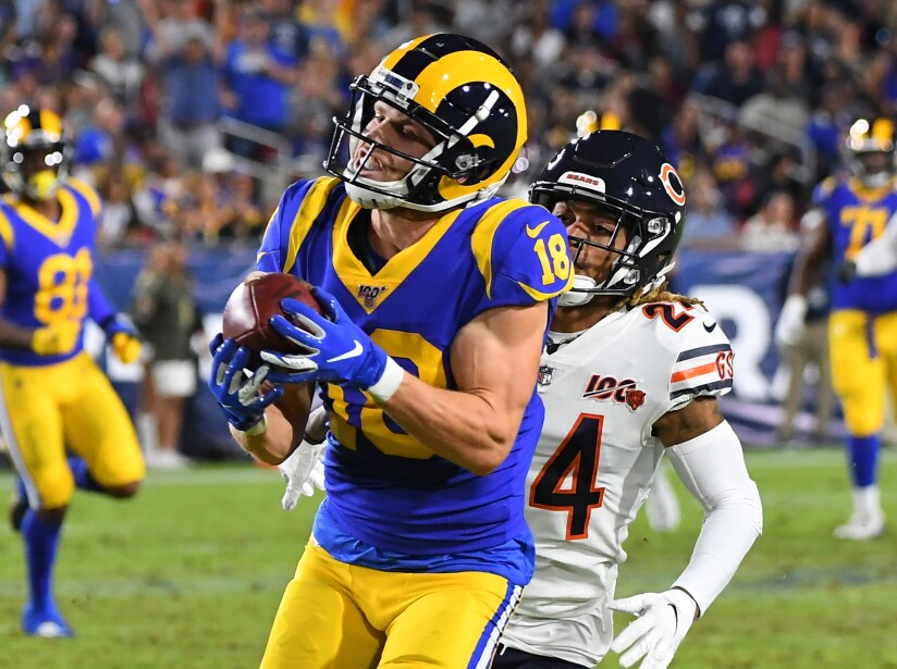 Chicago Bears v Los Angeles Rams